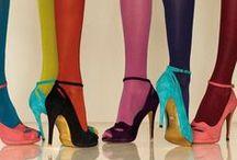 high heels and long legs