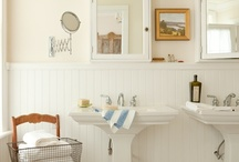 bathroom remodel  / by Lydia Arena