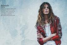 Fashion - Magazine Spreads