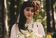 Wedding / Vintage, victorian, bohemian, hippie wedding inspiration.