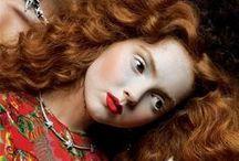 Pre Raphaelite/Art Deco types