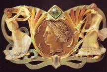 Art Noveau Jewelry / by grace dukes