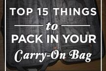 Tips and tricks / Tips and Tricks - mainly for travel, but some for the home and life in general!