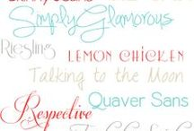 Fonts / by April Holmes