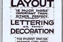 Design: Layout / by Kathleen Siegel