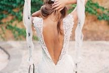 .wedding dress inspo.  / by Melissa Ambrosini