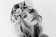 .wedding hair inspo. / by Melissa Ambrosini