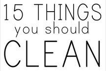 Clean, clean, clean / by Christa Pettis