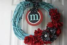 Wreaths / by Kelsey McMahan