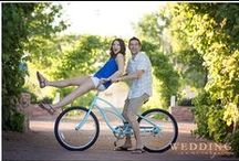 Real Engagements / Beautiful engagement photos of real couples' featured on The Wedding Concierge