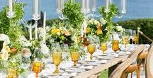 Outdoor Tablescapes / Beautiful Outdoor Table Decor