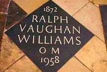 Vaughan Williams / bio & music / by Mike McVeigh