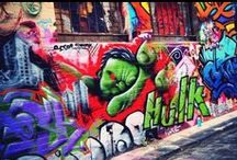 Street Art - Travel / Lots of beautiful street art from around the world.