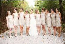 Bridesmaids Board! Fill with pretty wedding stuff!