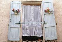 Home ~ Shutters & Window Treatments / by Karen Long