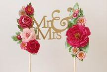 Cake Toppers / Beautiful Cake Toppers
