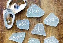 Escort Cards / Name & Escort Card Inspiration