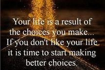 CHANGES... / Making good life choices - out with the bad air, and in with the good!