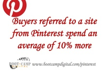 Pinterest Stats for Business Success / If you're not pinning - you're not winning. Check out all of these incredible statistics about how useful Pinterest is for you and your business. Become an expert that can take advantage of the huge opportunities in Pinterest by checking out our Social Media Training at bootcampdigital.com