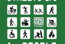 Streets for Everyone / A presentation-ready, clearly-sourced visual primer on streets supporintg active transit from slowottawa.ca. Explore 30 more boards at www.pinterest.com/slowottawa/