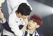 ♥BaekYeol♥ / ♥They're so cute together♥