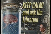 Graphic for library and librarians