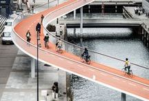 Ped/Cycle Bridge / Photos and videos of pedestrian & cycle bridges around the world, from Slow Ottawa. More than two dozen other sustainability-themed boards at www.pinterest.com/slowottawa/