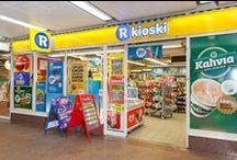 Liikkeet - Päivittäistavarat ja kioskit / Tervetuloa tutustumaan Hansan päivittäistavaraliikkeisiin sekä kioskeihin.