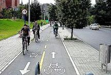 Bikeway / A presentation-ready visual primer on cycle tracks / bike paths. More than two dozen other sustainability-themed boards at www.pinterest.com/slowottawa/