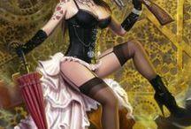 steampunk/dieselpunk/goth art / steampunk/dieselpunk/goth art / by Rellow-print