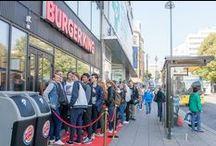 Burger Kingin avajaiset Hansassa 10.9.2014 / Turun ensimmäinen Burger King avasi ovensa tänään 10.9.2014 Kauppakeskus Hansassa.