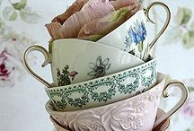 Tea Time / The most beautiful and elegant tea cups.