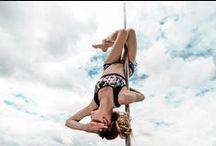 Siluet YOGA WEAR on the Pole / Siluet YOGA WEAR and Pole Dance
