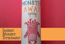 Monster Spray / by MetroKids Magazine