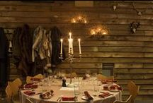 Our Winter Lodge / Every year we transform our private event Balcony Room into a winter lodge and our very own little winter wonderland area, perfect for getting into the Christmas Spirit.