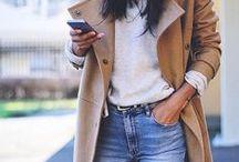 How to wear beige coat