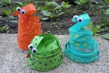 Kids craft: jungle, rainforest, and zoo