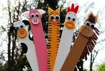 Kids craft: farm