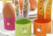 Easter: crafts and activities