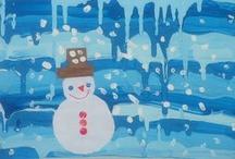 Kids craft: winter