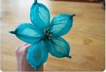 Kids craft: spring and flowers