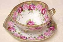 The China Cabinet / Tea Cups ~ Pretty China ~ Crystal