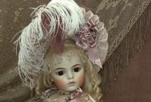 Antique Porcelain Dolls /   Beautiful Dolls of Yesteryear
