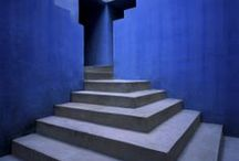 INDIGO CHIC / Indigo Blue....colour of the third Chakra and seat of INTUITION........be there , sit down....and stay there a while..... / by Bella Whiteley Interiors