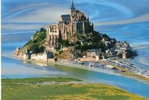 Mont Saint-Michel / The magnificent Mont Saint-Michel, Normandy is all about history and wonderment, a magical experience, there are hundreds of steps to climb, but oh to reach the hauntingly beautiful Abbey is a memory never to be forgotten.