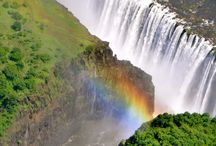 "Victoria Falls, Zimbabwe, Chobi River, Chobi Chilwero, Botswana. Zambia. / ""Scenes so lovely must have been gazed upon by Angels in their flight"", quote made by David Livingstone when he first saw The Victoria Falls ~ I rode the rainbows of Mosi-au-Tuna on 'The Flight of Angels' and lived these words."