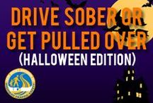 Halloween - Drive Sober or Get Pulled Over / Everyone deserves to enjoy their Halloween. Never drink and drive.