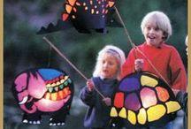 Kids' craft: Lanterns