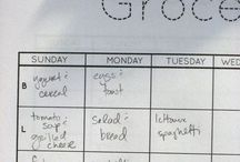 weekly meal planner...x