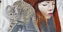 [Art] Feline Grafitti Art / Cat related street art from around the world.